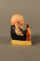 2016.184.135 right side Painted bisque toothpick holder of a Jewish man  Click to enlarge