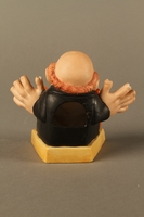2016.184.135 back Painted bisque toothpick holder of a Jewish man  Click to enlarge
