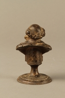 2016.184.136 back Bronze bust of a bourgeois Jewish businessman  Click to enlarge