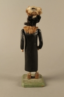2016.184.140 back Wooden spring balanced figure of a Hasidic Jew  Click to enlarge