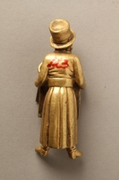 2016.184.148_a-b back Bronze figurine of a Jewish man reading a newspaper  Click to enlarge