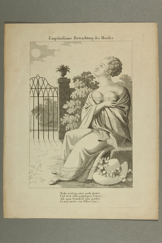 2016.184.181 front Print of a busty Jewish woman admiring the moon