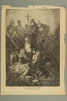 2016.184.182 front Print of a Jewish family found by the Grand Inquisitor  Click to enlarge