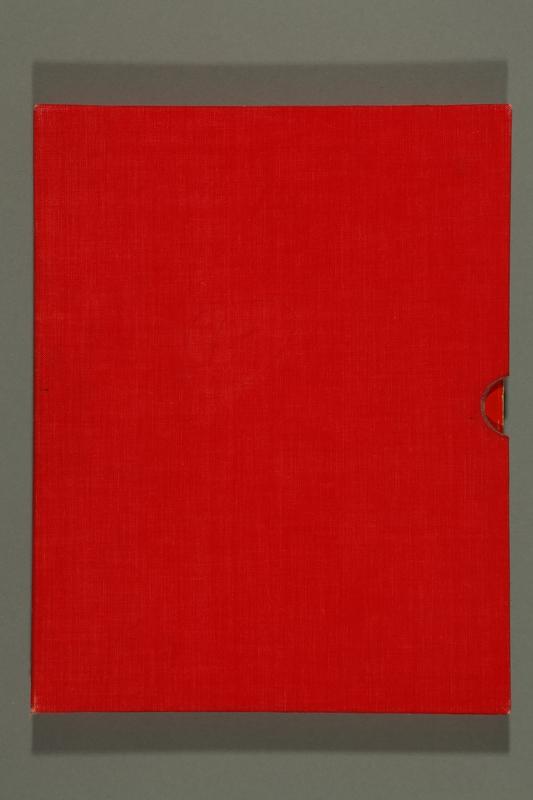 2016.184.221 slipcase with book Ein Bilderbuch für Gross und Klein