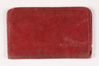 2011.274.2 back Red leather wallet  Click to enlarge