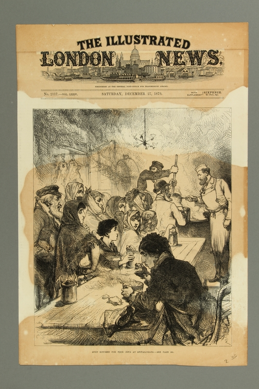 2016.184.226 front Soup kitchen for poor Jews in Spitalfields