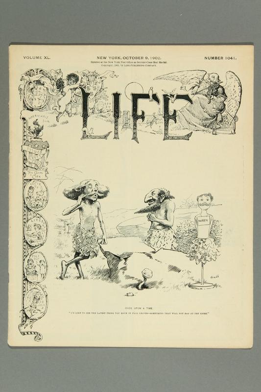 2016.184.230 front LIFE Magazine, Vol. XL, Number 1041, October 9, 1902