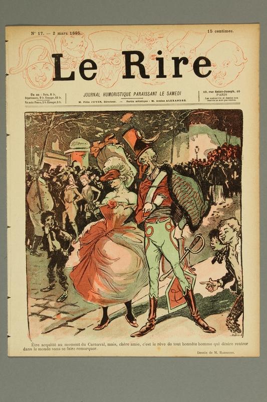 2016.184.234.2 front Le Rire :  journal humoristique paraissant le samedi, No. 17, March 2, 1895