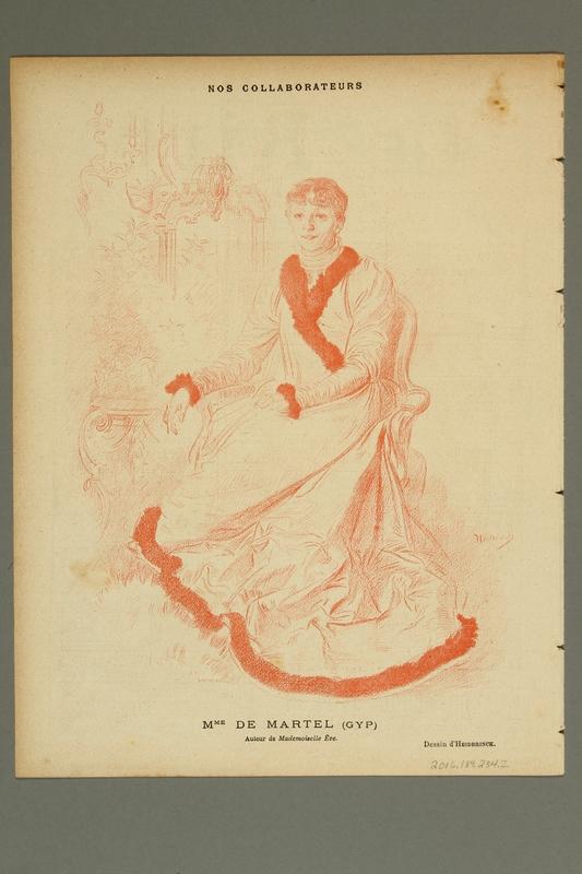2016.184.234.2 back Le Rire :  journal humoristique paraissant le samedi, No. 17, March 2, 1895