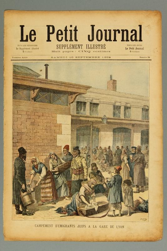2016.184.235.2 front Le Petit journal : supplement illustre, Troisieme annee, No. 94, Samedi  September 10, 1892