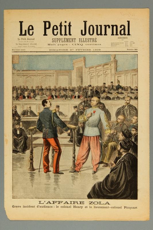 2016.184.235.6 front Le Petit journal : supplement illustre, Neuvieme annee, No. 380, Dimanche February 27, 1898