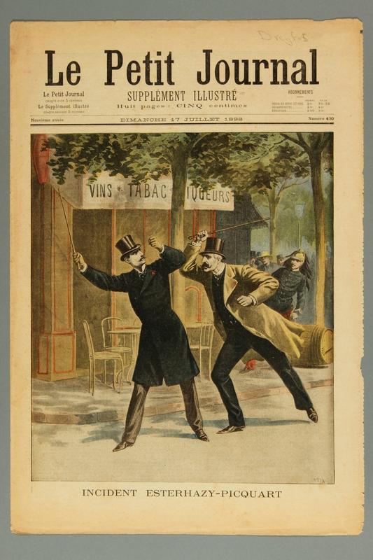 2016.184.235.9 front Le Petit journal : supplement illustre, Neuvieme annee, No. 400, Dimanche July 17, 1898