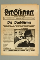 2016.184.236.6 front Der Stürmer, Nummer 31, August 1939, 17. Jahr 1939  Click to enlarge