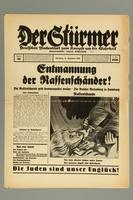2016.184.236.10 front Der Stürmer, Nummer 50, Dezember 1938, 17. Jahr 1938  Click to enlarge