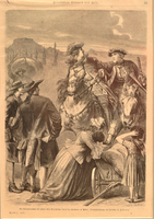 Print depicting the arrest of Jud Suss Oppenheimer  Click to enlarge