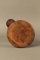 2016.184.255 bottom Biedermayer hand carved wooden figure of a Jewish Peddler  Click to enlarge