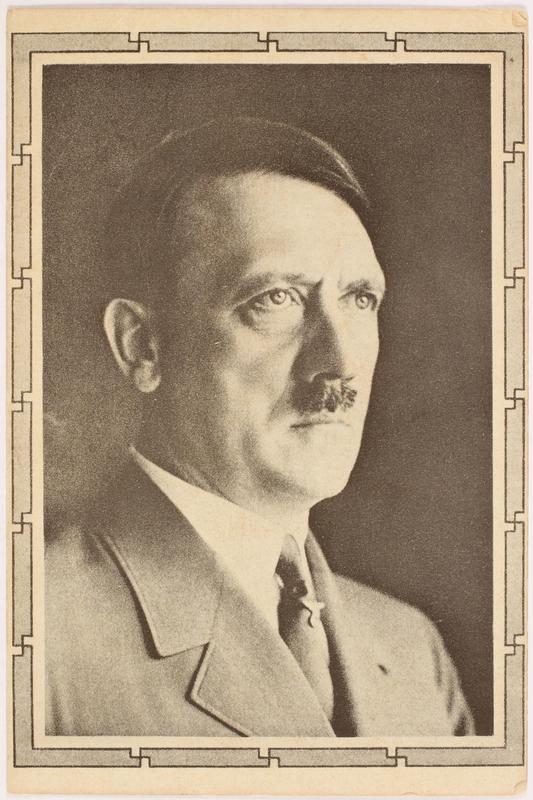 2000.349.5 front Adolf Hitler postcard