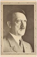 2000.349.5 front Adolf Hitler postcard  Click to enlarge