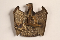 2015.558.3 back Badge found by a US soldier  Click to enlarge