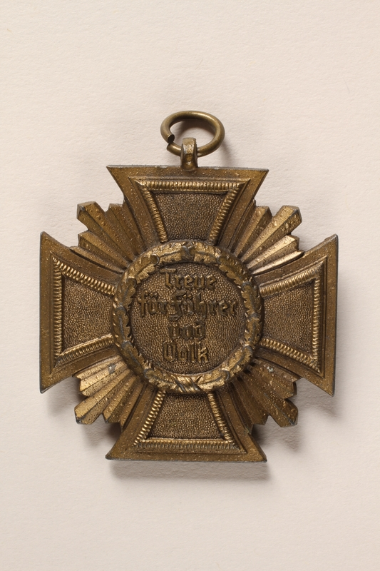 2015.558.4 back Medal found by a US soldier