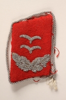 2015.558.9 a front Collar tabs found by a US soldier  Click to enlarge