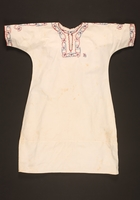 2016.112.3 front Nightgown with floral embroidery made for a young Austrian Jewish refugee before emigration  Click to enlarge