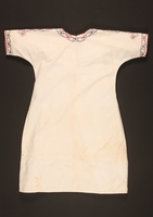 2016.112.3 back Nightgown with floral embroidery made for a young Austrian Jewish refugee before emigration  Click to enlarge