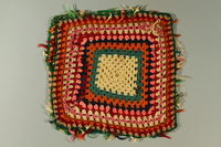 2015.561.2 front Crocheted pillowcase  Click to enlarge