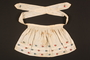 Embroidered apron made for a young Austrian Jewish refugee before her emigration