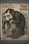 Caricature of Baron James de Rothschild as a dog hiding his money