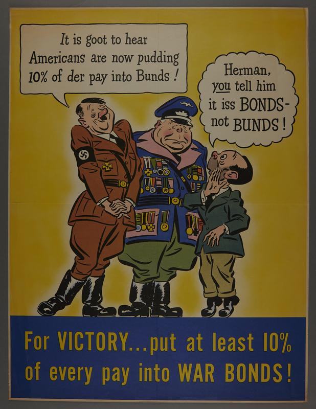 2015.562.3 front US Buy War Bonds poster