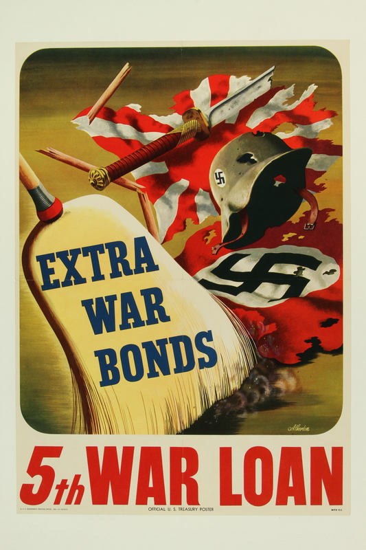 2015.562.4 front US 5th war loan poster