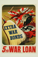2015.562.4 front US 5th war loan poster  Click to enlarge