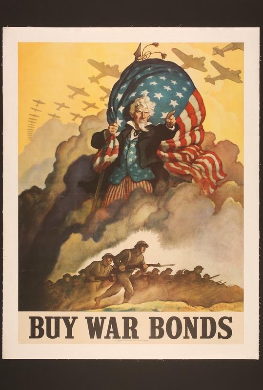 2015.562.9 front US buy war bonds poster