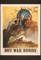 2015.562.9 front US buy war bonds poster  Click to enlarge