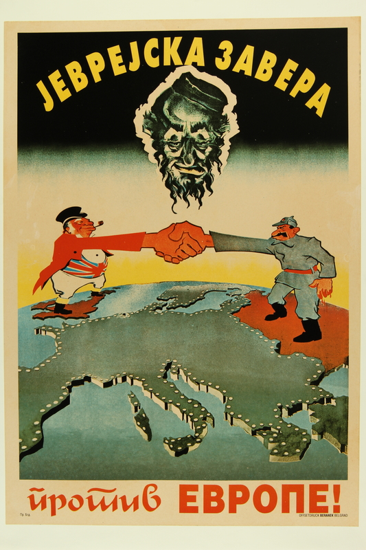 2016.184.345 front Poster of John Bull and Stalin joining the Jewish conspiracy