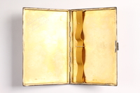 2003.149.86 open Engraved cigarette case given to a German Jewish emigre  Click to enlarge