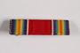 World War II Victory ribbon bar awarded to German Jewish US soldier