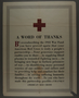 Poster in support of the American Red Cross
