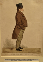 Engraved portrait of the first Jewish Baronet, Sir Isaac Lyon Goldsmid  Click to enlarge