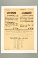 2016.184.396 front Nazi ordinance rationing meat for Aryans and Jews  Click to enlarge