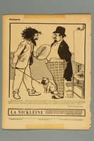 2016.184.405 front French cartoon of a Jewish banker haggling over the price of his portrait  Click to enlarge