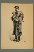 2016.184.418 front Engraving of a Jewish peddler  Click to enlarge