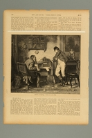 2016.184.448 front Page from a newspaper with an image of a Jewish moneylender and client  Click to enlarge