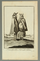 2016.184.468 front Illustration of a Jewish couple in 18th century Frankfurt  Click to enlarge