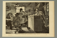 2016.184.472 front Woodcut of a Jewish tavern in the Carpathian Mountains  Click to enlarge