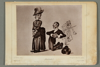 2016.184.488 b front Six postcards ridiculing Jews as foolish, unlucky figures  Click to enlarge