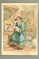 2016.184.495 front Satirical print of a Jewish woman kissing a pig  Click to enlarge
