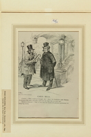 2016.184.518 front Satiric cartoon of a two Jewish tailor making a bad deal for his brother-in-law  Click to enlarge