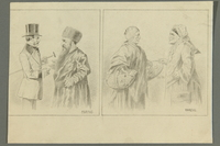 2016.184.522 front Set of portraits contrasting a Jewish and a Gentile couple  Click to enlarge